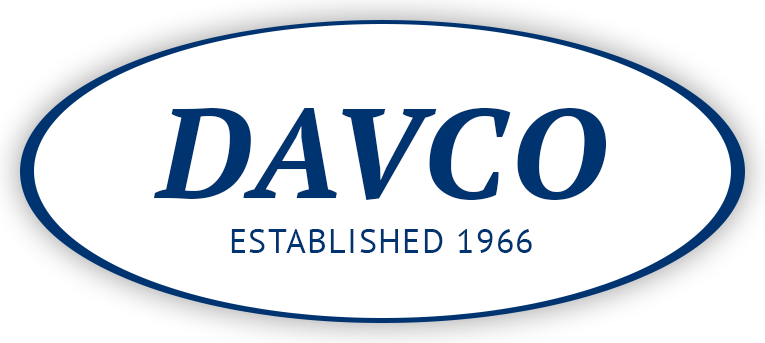 Davco Construction Co Ltd Logo White